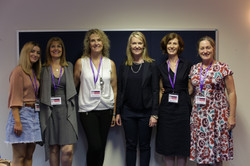 5 of the team with Natalie Ward MLC