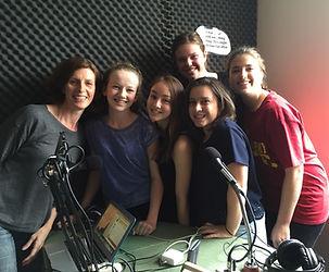 Asylum seekers youth radio program