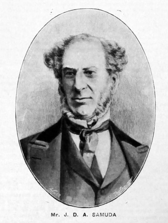 Joseph D'Aguilar Samuda.
