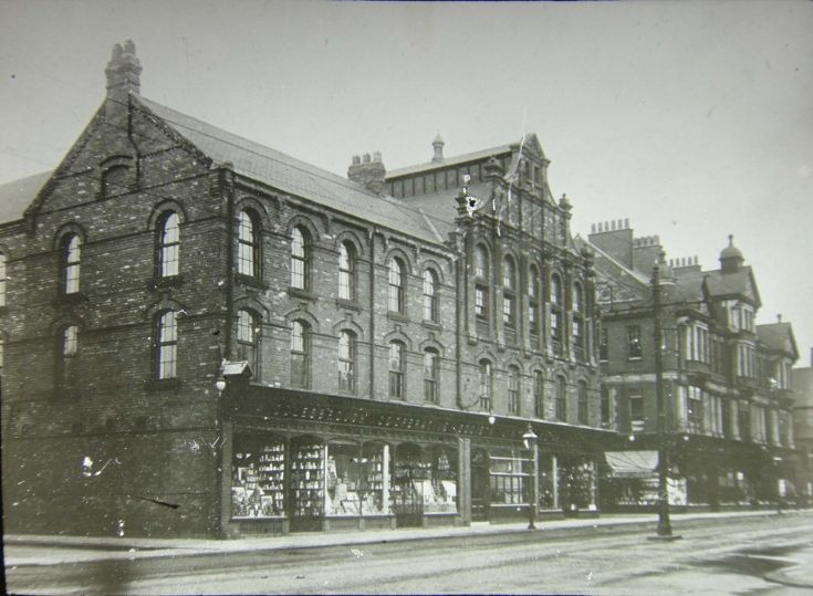 The Co-Op in Middlesbrough.  Winifred Marion Jarvis worked here as a shirtmaker.