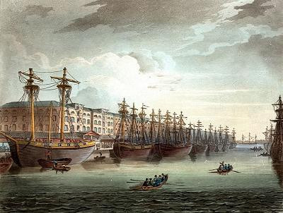 West India Docks, The Isle Of Dogs