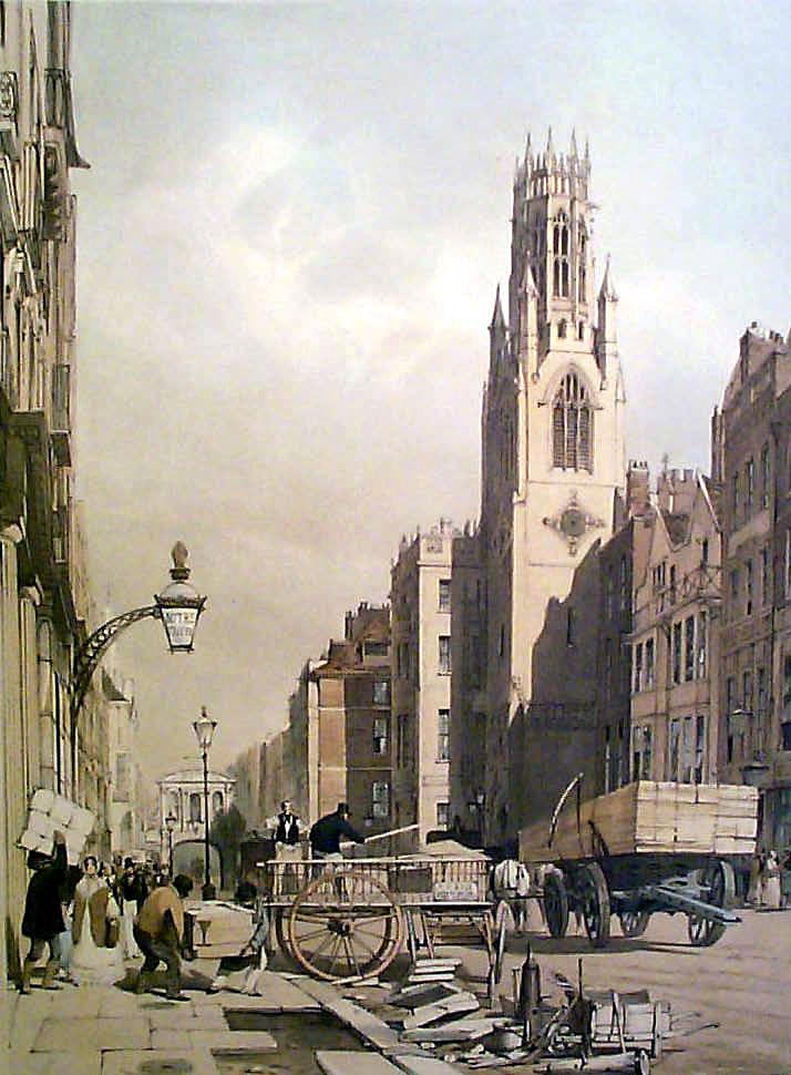 St Dunstan In The West, Fleet Street