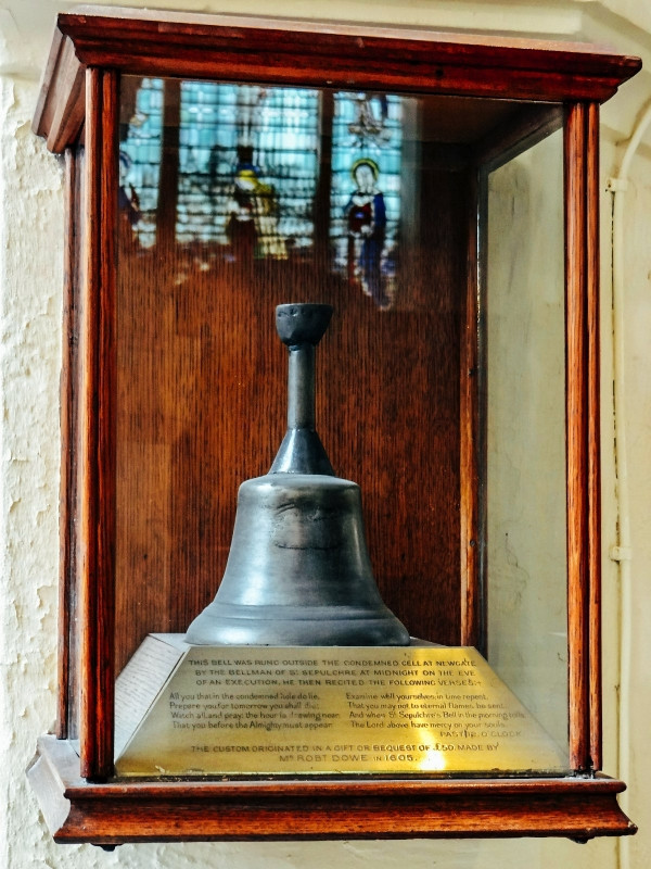 The Execution Bell at St. Sepulchre-without-Newgate