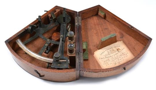 A typical John Lilley instrument of the type Charles Robert Owen Jarvis made in John Lilley's workshop.