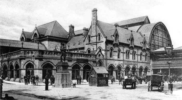 Middlesbrough Station which opened in December 1877