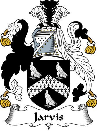 The Jarvis family crest