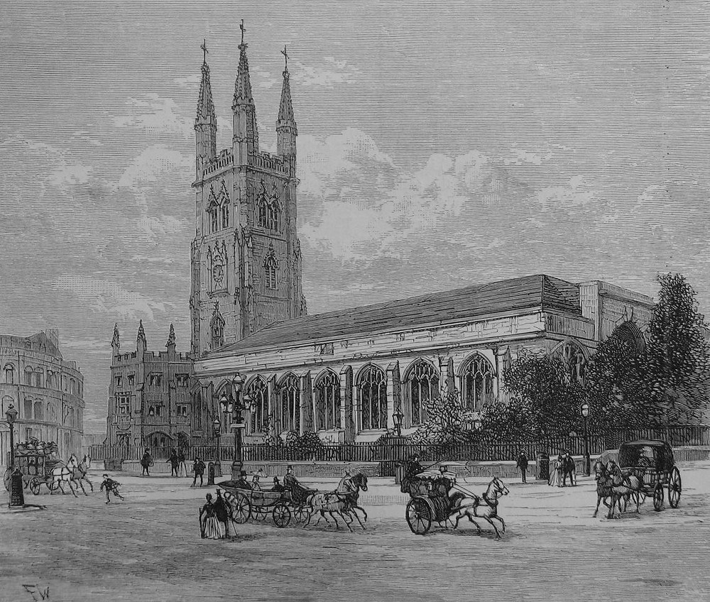 St Sepulchre--without-Newgate