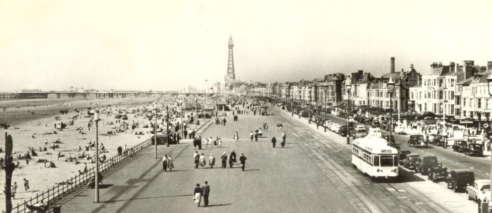 Blackpool - a popular working class holiday town.