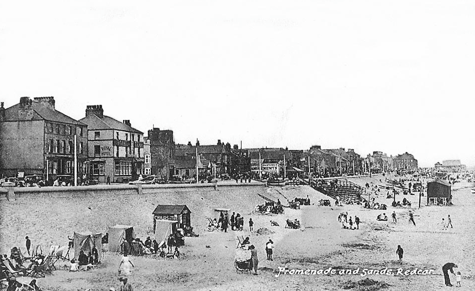 Redcar in the 1940s
