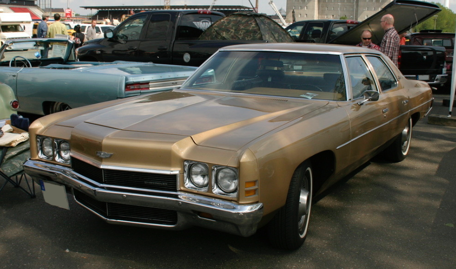 The Chevrolet Impala that Dad bought at a discount from Am-Yusuf.