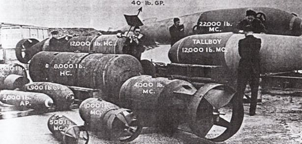 The armaments built by Head Wrightson
