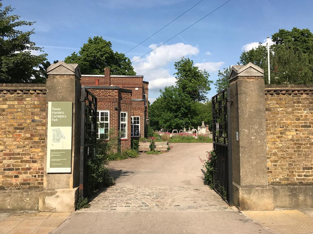 Tower Hamlets Cemetery Park Entrance