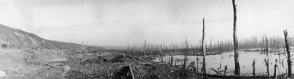 The Ancre valley after the battle.