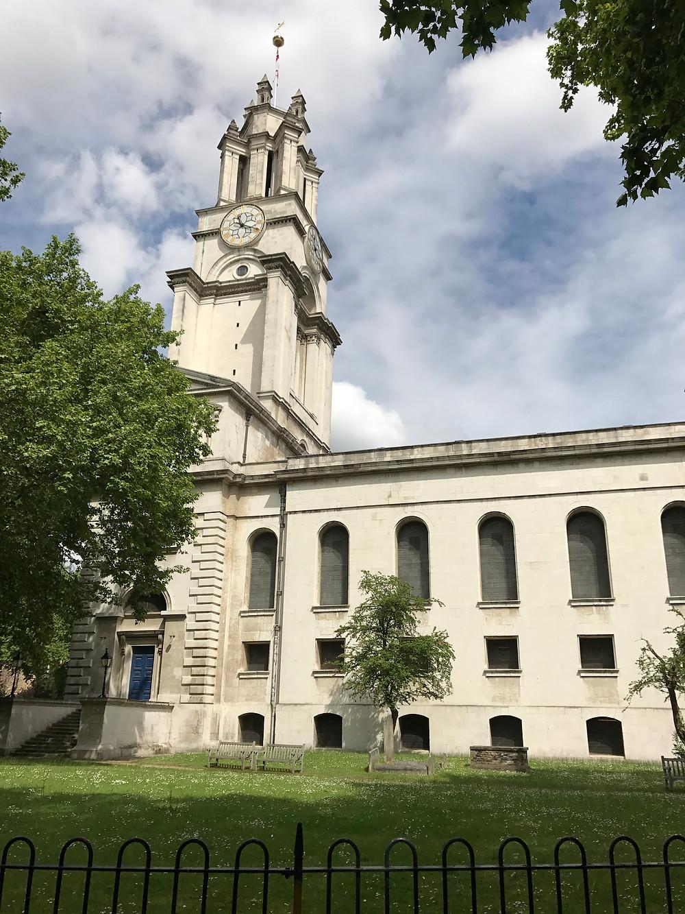 St. Anne's Church, Limehouse.