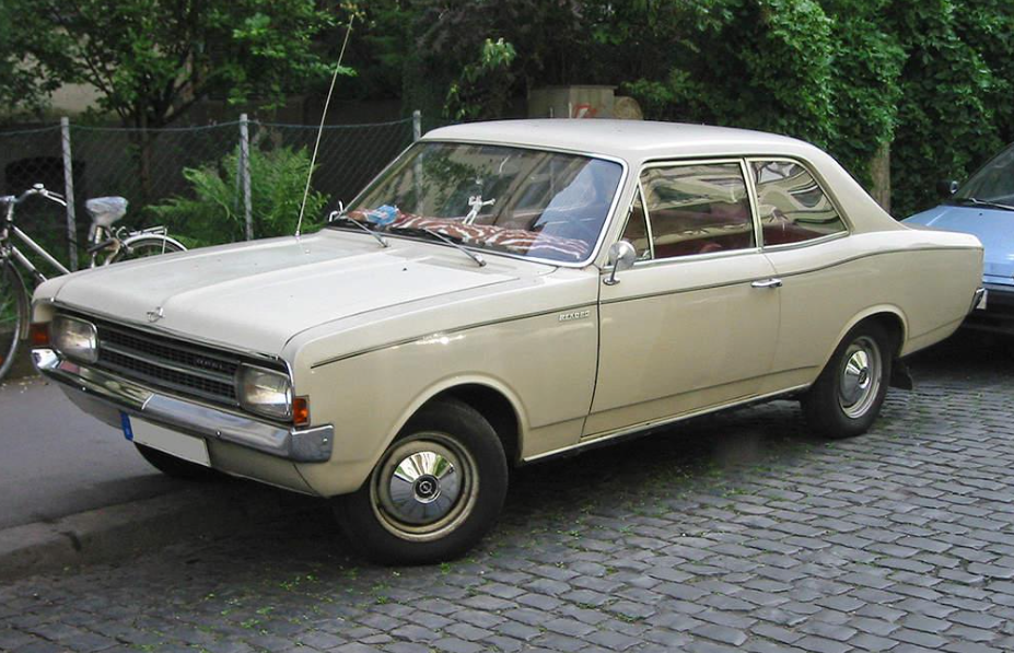 The Opel Record that Dad initially used in Kuwait