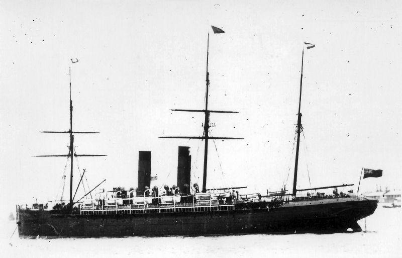The Cunard ship SS Aurania