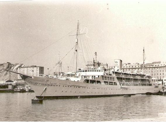 The El Mahroussa in 1905. One of Charles Jarvis's projects at Samuda.