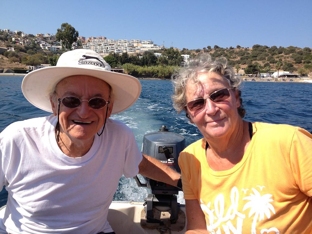 Mum and Dad in Turkey