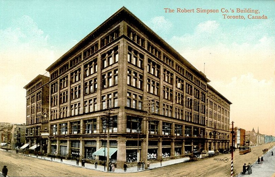 Simpsons Department Store.  Employer of Winifred and Frederick's daughter, Winnifred
