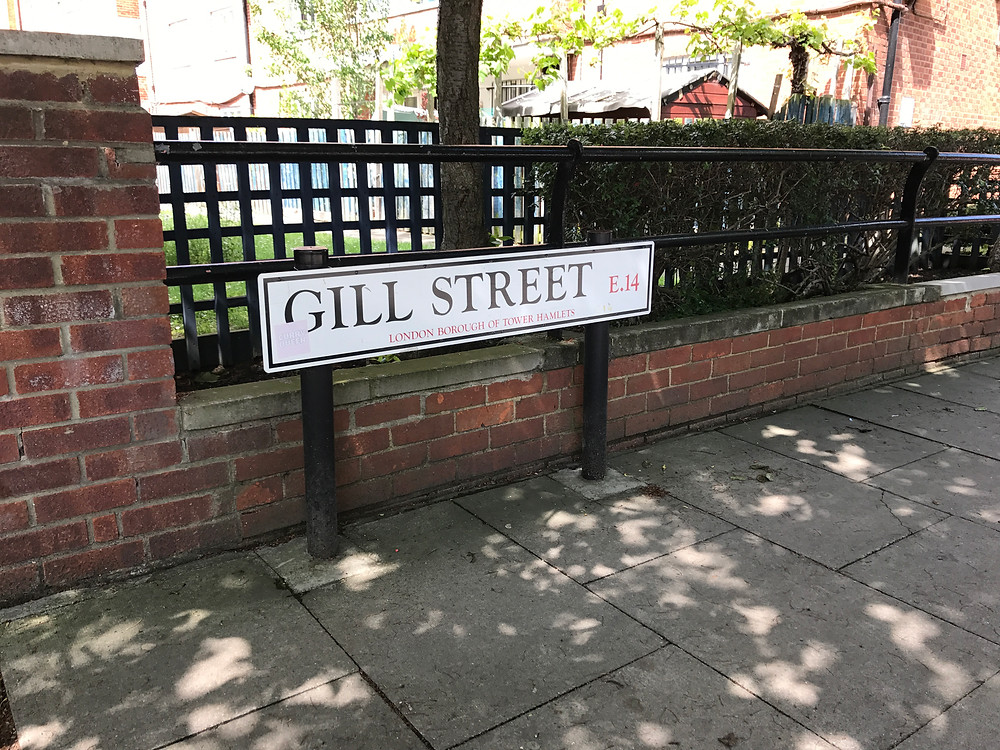 Gill Street.  Home of there Jarvis family in 1851.