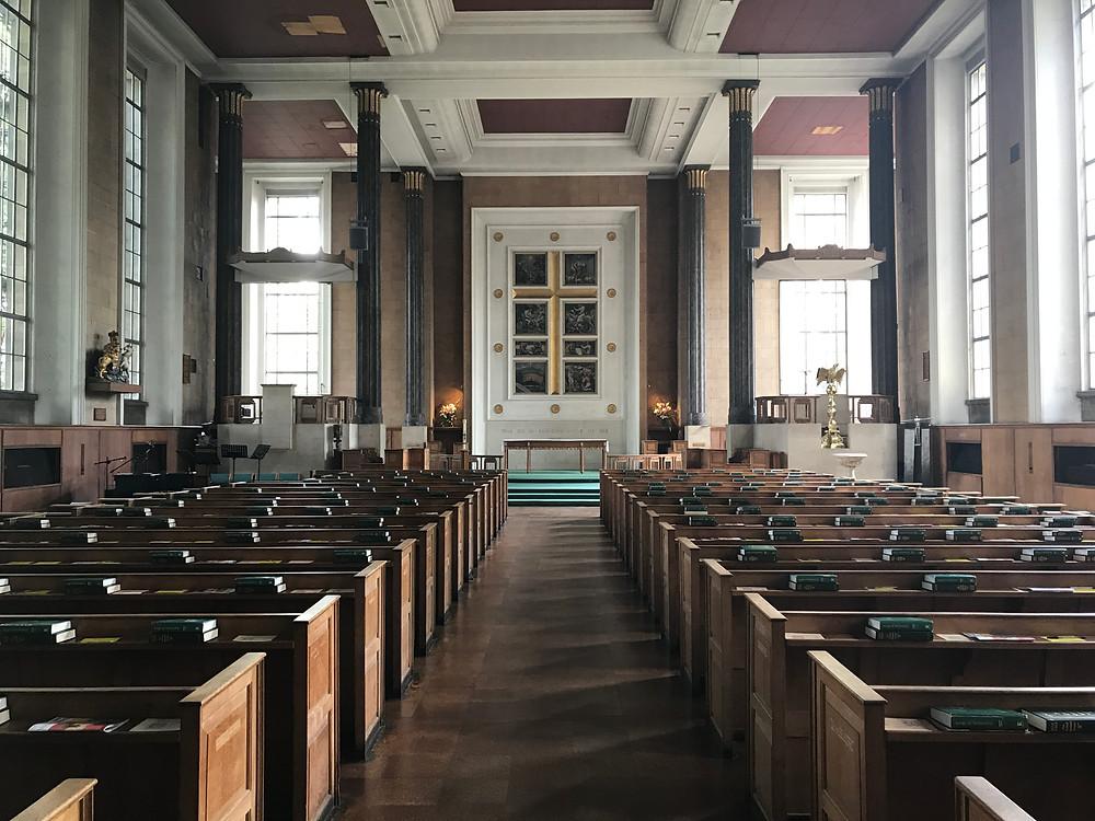 Inside St. Mary's Church, Islington