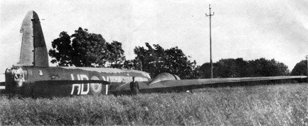 The Wellington Bomber that crashed at Ackla