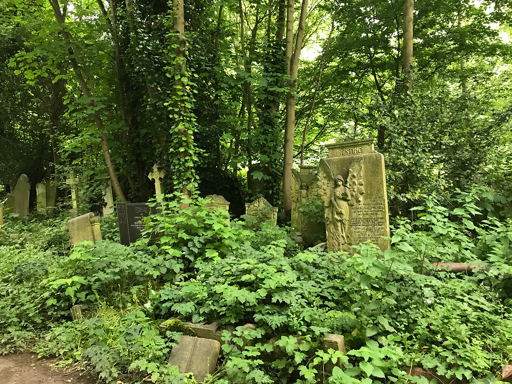 Tower Hamlets Cemetery Park.  Dilapidated, Neglected and Very Peaceful