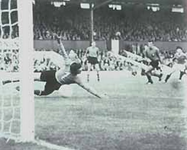 The North Korean goal which eliminated Italy from the 1966 World Cup.