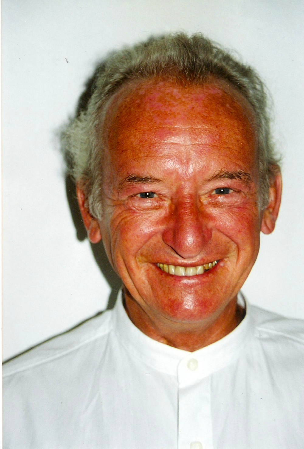 A very tanned Dad at the time he retired, aged 64
