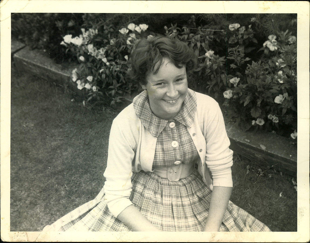 Fifteen year old Janet - the woman Dad was destined to marry.