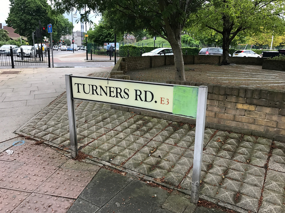 Turners Road.  Home of the Jarvis family in the mid 1870s.