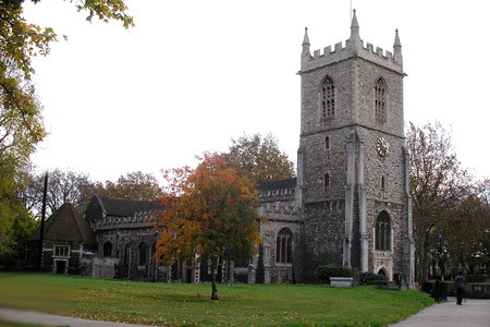 St. Dunstan In The East, Stepney