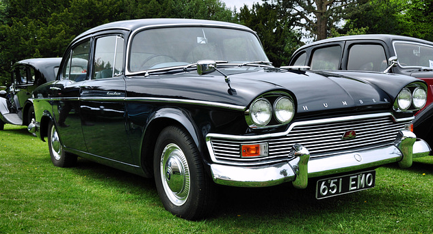 The Humber Super Snipe that Dad got in 1966.