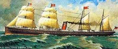The SS British Princess
