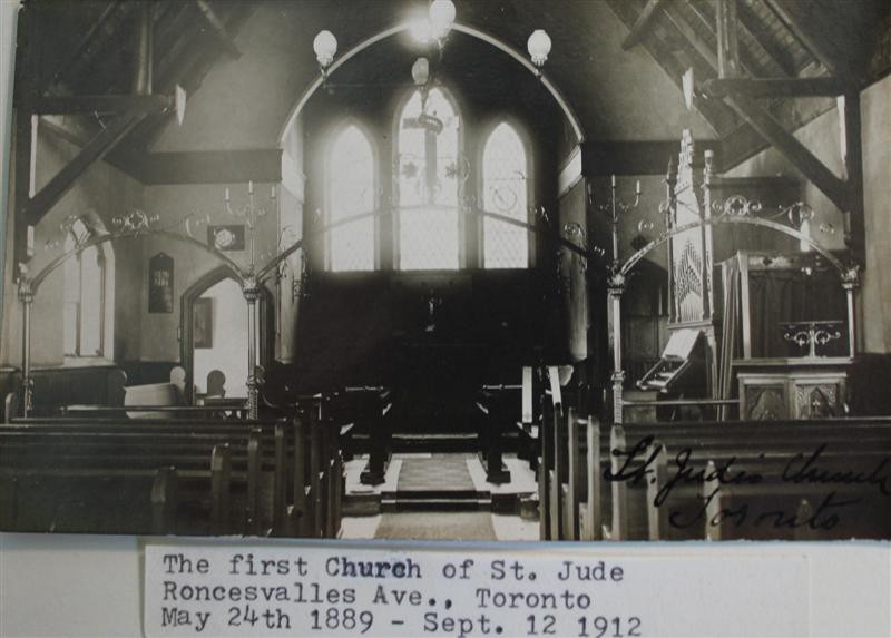 St. Judes Anglican Church in Toronto (no longer exists)