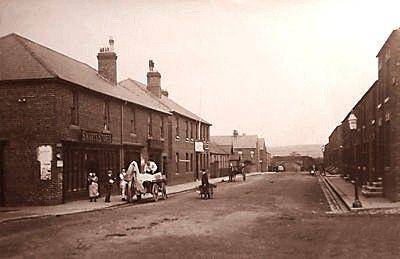 Vaughan Street Middlesbrough.  Scene of Harold Leopard Jarvis's death.