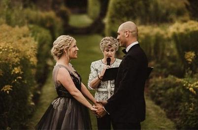 Wedding Ceremony Gabrielle McAuley Solem