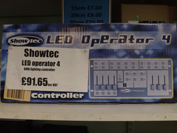 Showtec LED Operator4 £91.65