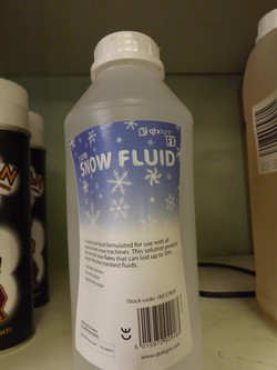 Snow Fluid £6.95 1ltr