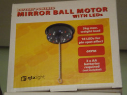 LED Mirror Ball motor £18.95
