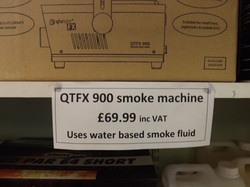 QTFX 900 smoke machine £69.99