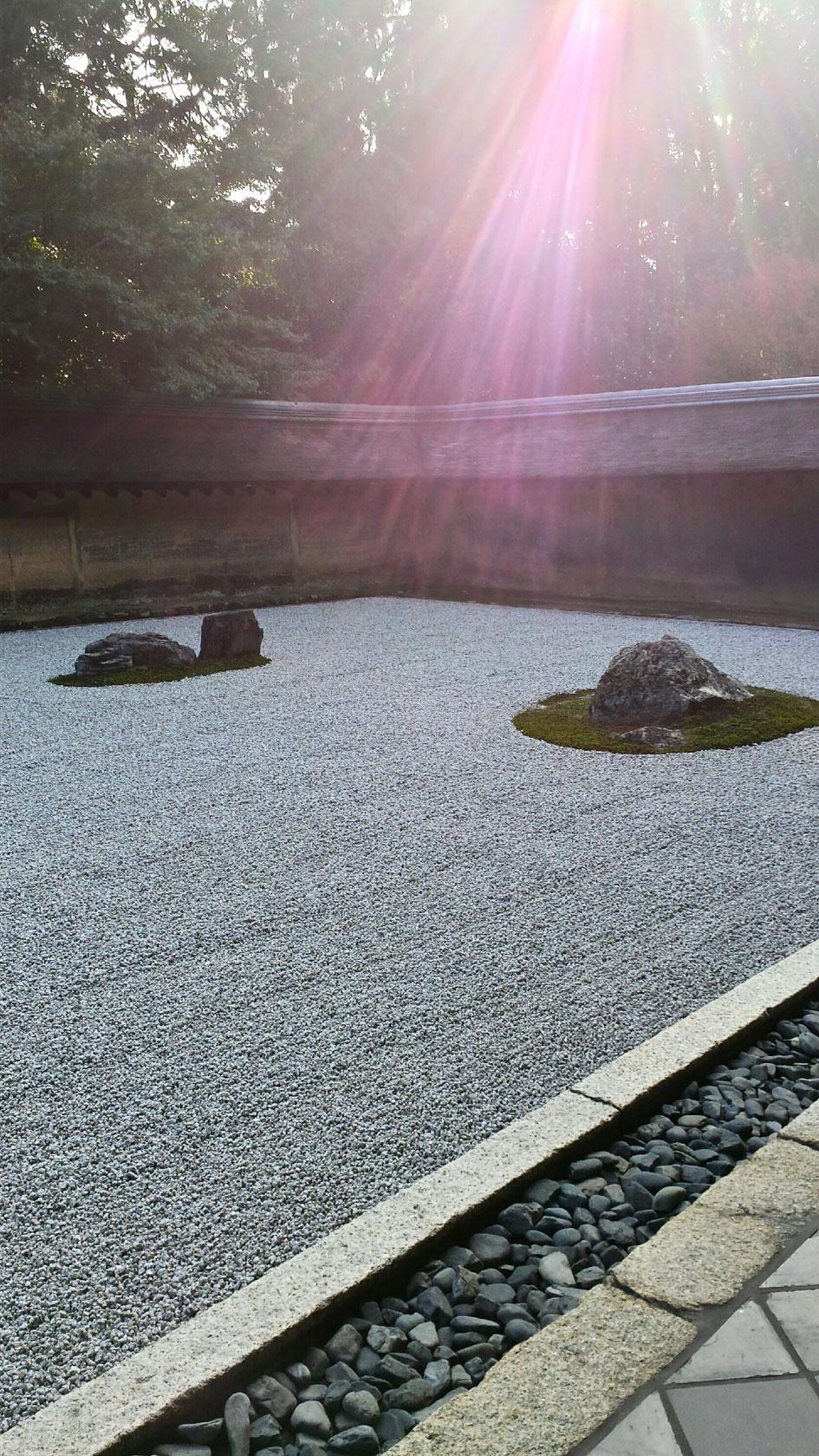 Kyoto - jardin zen,  Ryôan-ji (3)