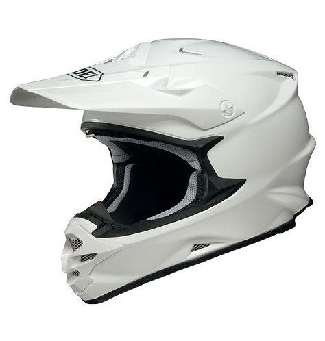 Shoei VFX-W MX Helmet Plain White