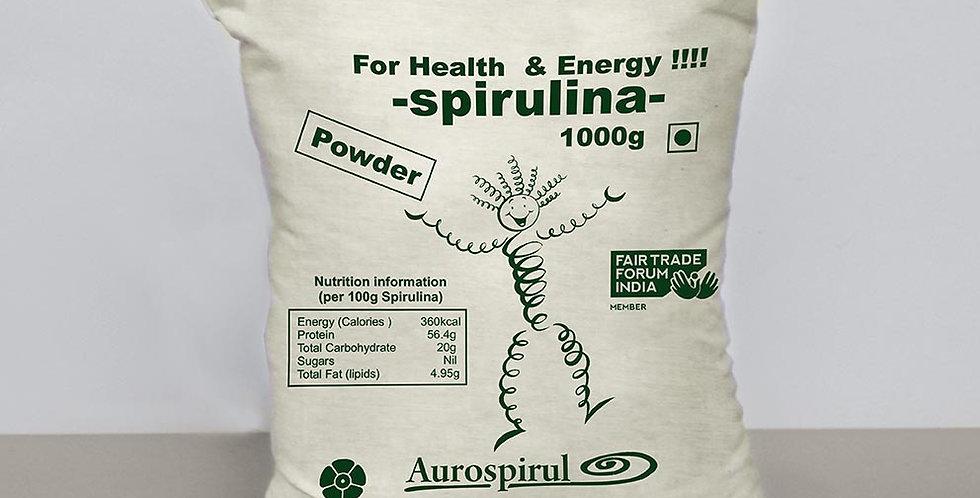 Aurospirul Sun Dried Spirulina Powder - 1kg