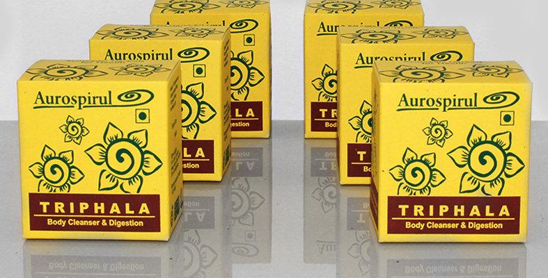 Aurospirul organic certified Triphala capsules 6-pack - 6 x 100 capsules