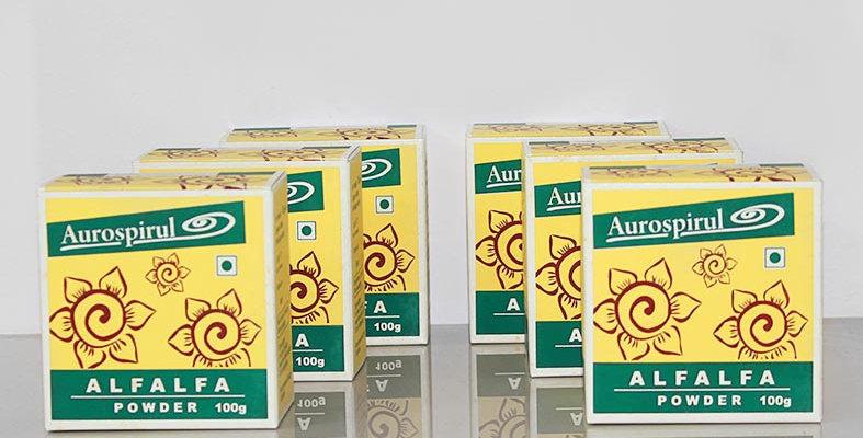 Aurospirul Organic Alfalfa powder 6-pack - 6 x 100g