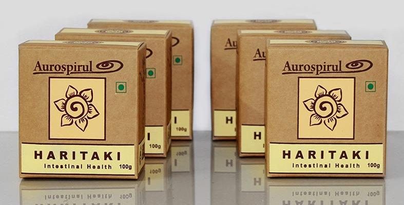 Aurospirul organic certified Haritaki powder 6-pack - 6 x 100g