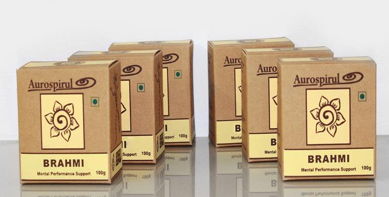Aurospirul organic certified Brahmi powder 6-pack - 6 x 100g