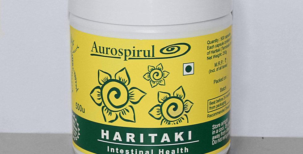 Aurospirul Haritaki - 500 Veg Capsules