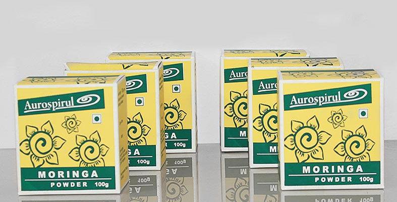 Aurospirul Organic Moringa powder 6-pack - 6 x 100g